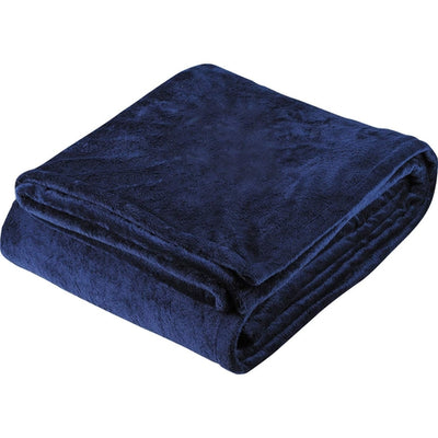 Elevate-Sherpa Home Throw-Navy-Thread Logic
