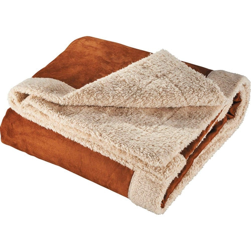 Elevate-Appalachian Sherpa Blanket-Tan-Thread Logic