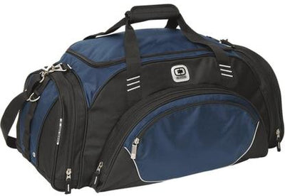 OGIO Transfer Duffel Bag-Navy-Thread Logic