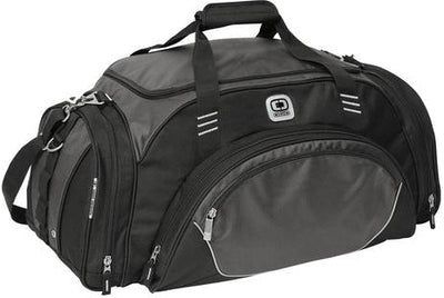 OGIO Transfer Duffel Bag-Petrol-Thread Logic