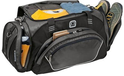 OGIO Transfer Duffel Bag-Thread Logic no-logo