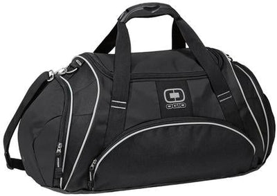OGIO Crunch Duffel Bag-Black-Thread Logic