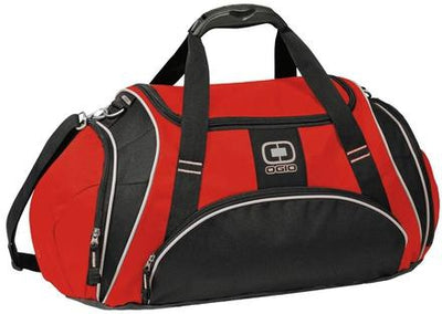 OGIO Crunch Duffel Bag-Red-Thread Logic