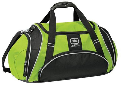 OGIO Crunch Duffel Bag-Wasabe-Thread Logic