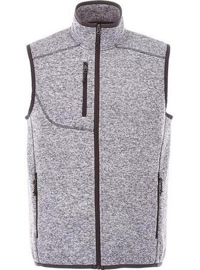 Elevate-FONTAINE Knit Vest-S-Light Heather Grey-Thread Logic
