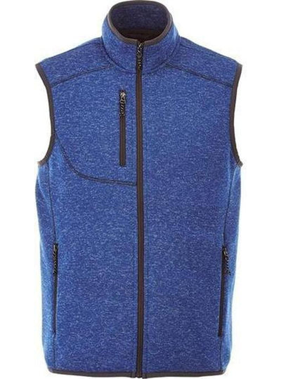 Elevate-FONTAINE Knit Vest-S-Metro Blue Heather-Thread Logic