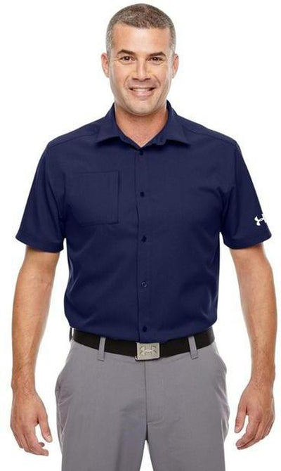 Under Armour Ultimate Short Sleeve Buttondown-Thread Logic no-logo