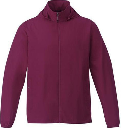 Elevate-TOBA Packable Jacket-S-Maroon-Thread Logic