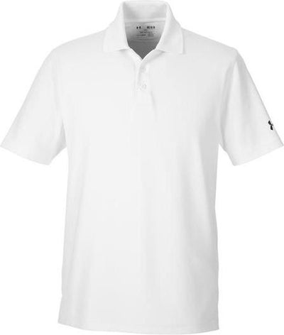 Under Armour Corp Performance Polo-S-White-Thread Logic
