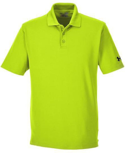 Under Armour Corp Performance Polo-S-HiVis Yellow-Thread Logic