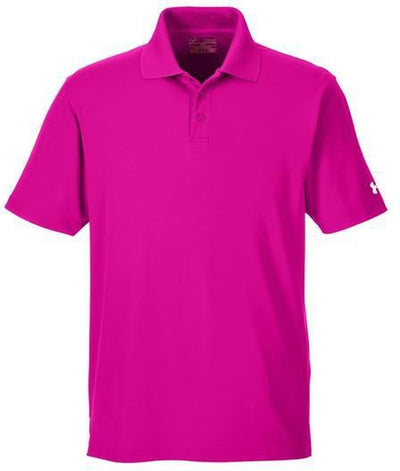 Under Armour Corp Performance Polo-S-Tropical Pink-Thread Logic