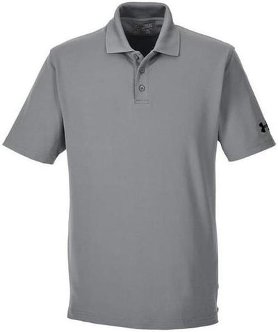 Under Armour Corp Performance Polo-S-True Grey-Thread Logic