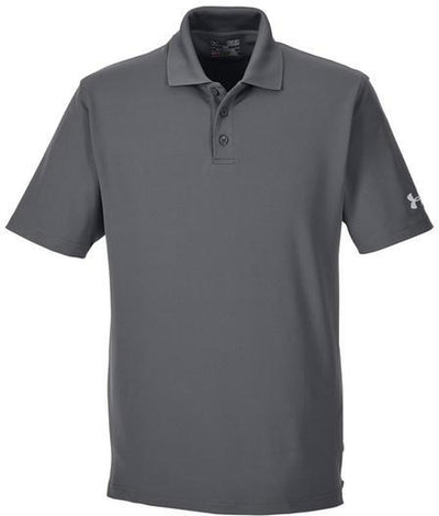 Under Armour Corp Performance Polo-S-Graphite-Thread Logic