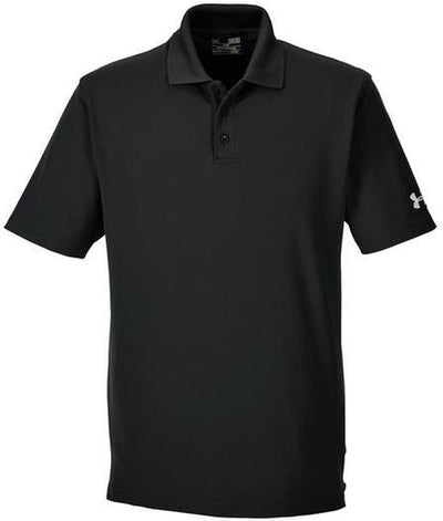 Under Armour Corp Performance Polo-S-Black-Thread Logic