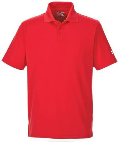 Under Armour Corp Performance Polo-S-Red-Thread Logic