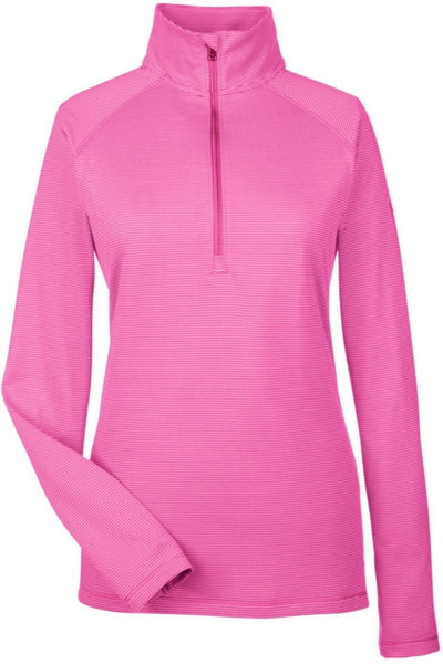 Under Armour Ladies Corp Stripe Quarter-Zip