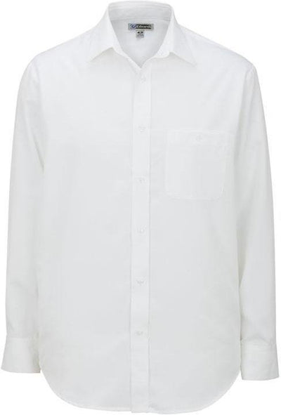 Edwards Tall Long Sleeve Bastiste Cafe Shirt