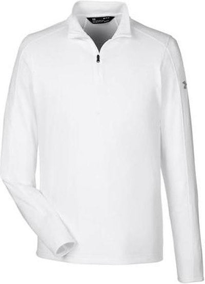 Under Armour Tech Quarter-Zip-S-White-Thread Logic