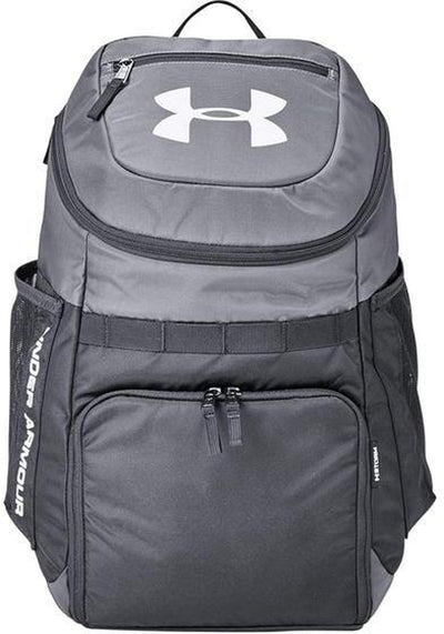 Under Armour UA Undeniable Backpack-Graphite/White-Thread Logic