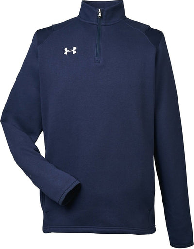 Under Armour Hustle Quarter-Zip Pullover Sweatshirt