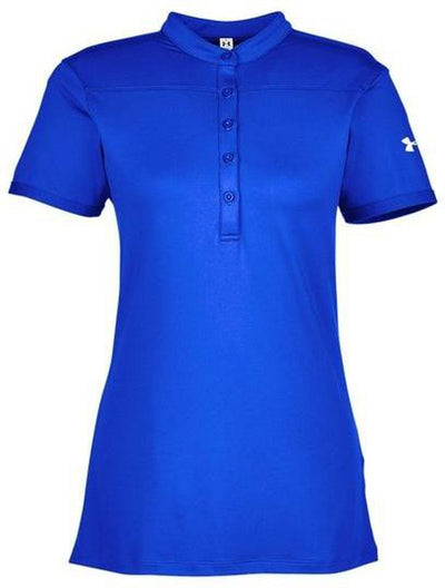 Under Armour Ladies Corporate Performance Polo 2.0-XS-Royal/White-Thread Logic