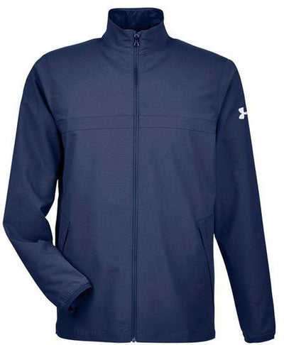 Under Armour Corporate Windstrike Jacket-S-Midnight Navy/White-Thread Logic