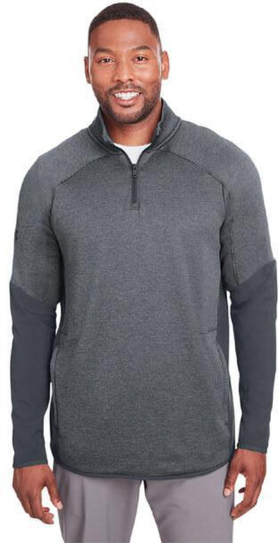 Under Armour Qualifier Hybrid Corporate Quarter-Zip-Men's Layering-Thread Logic
