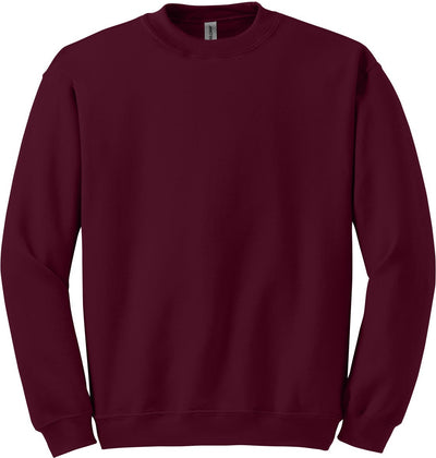 Gildan-Blend Crewneck Sweatshirt-S-Maroon-Thread Logic
