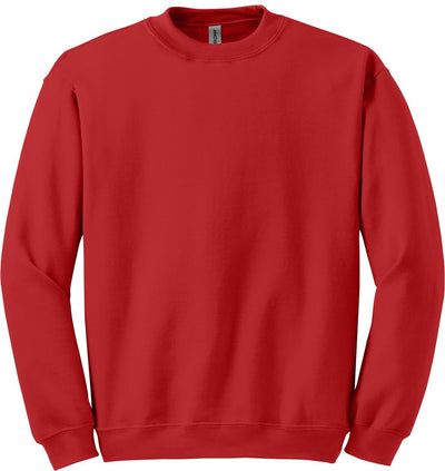 Gildan-Blend Crewneck Sweatshirt-S-Red-Thread Logic