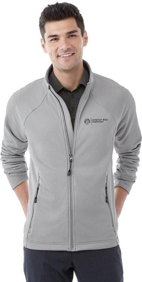 Elevate-KIRKWOOD Knit Jacket-S-Silver-Thread Logic