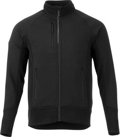 Elevate-PANORAMA Hybrid Knit Jacket-S-Black-Thread Logic