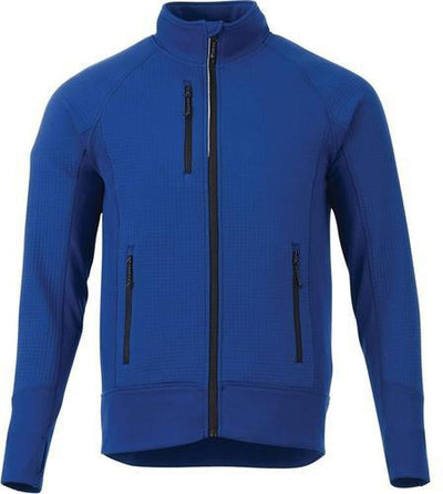 Elevate-PANORAMA Hybrid Knit Jacket-S-Metro Blue-Thread Logic