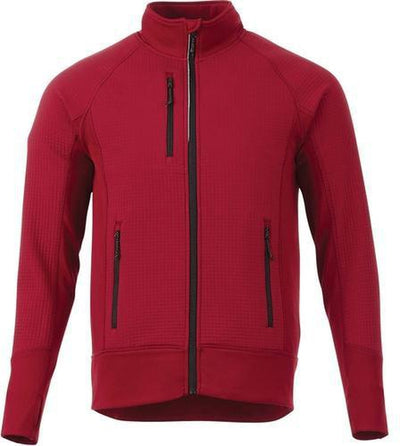 Elevate-PANORAMA Hybrid Knit Jacket-S-Vintage Red-Thread Logic