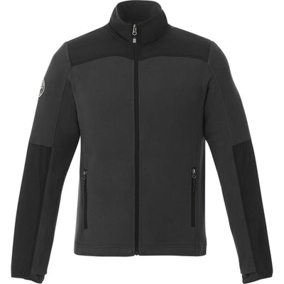 Roots73 Briggspoint Microfleece Jacket-S-Black/Black-Thread Logic