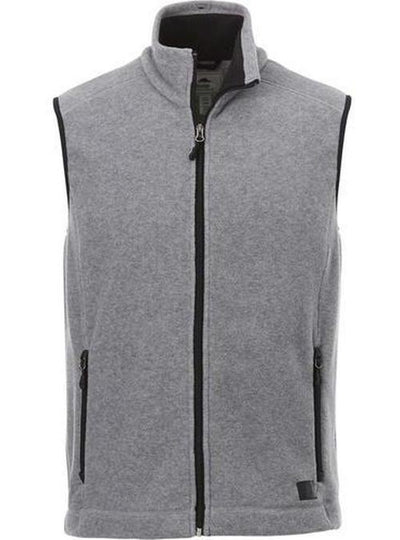 Roots73 Willowbeach Microfleece Vest-S-Charcoal-Thread Logic
