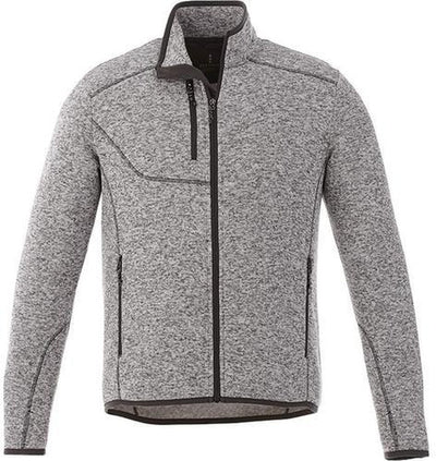 Elevate-TREMBLANT Knit Jacket-S-Light Heather Grey-Thread Logic
