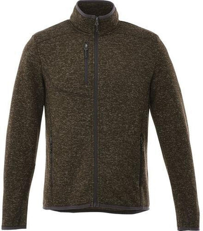 Elevate-TREMBLANT Knit Jacket-S-Loden Heather-Thread Logic