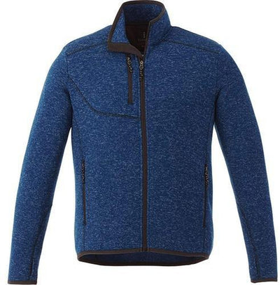 Elevate-TREMBLANT Knit Jacket-S-Metro Blue Heather-Thread Logic