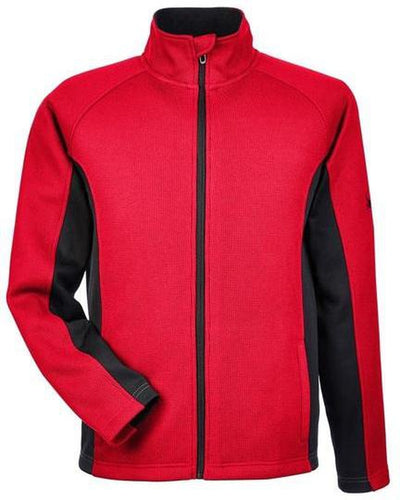 Spyder Constant Full-Zip Sweater Fleece-S-Red/Black-Thread Logic