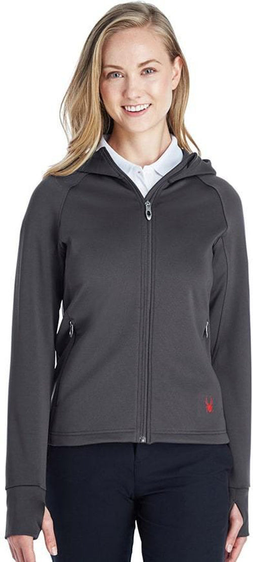 Spyder Ladies Hayer Full-Zip Hooded Fleece Jacket
