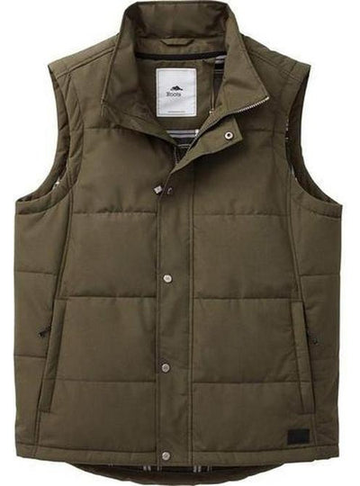 Roots73 Traillake Insulated Vest-S-Loden-Thread Logic