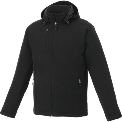 Elevate-BRYCE Insulated Softshell Jacket-S-Black-Thread Logic