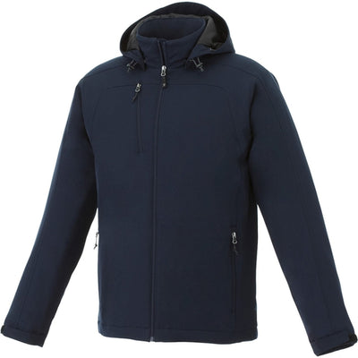 Elevate-BRYCE Insulated Softshell Jacket-S-Navy-Thread Logic