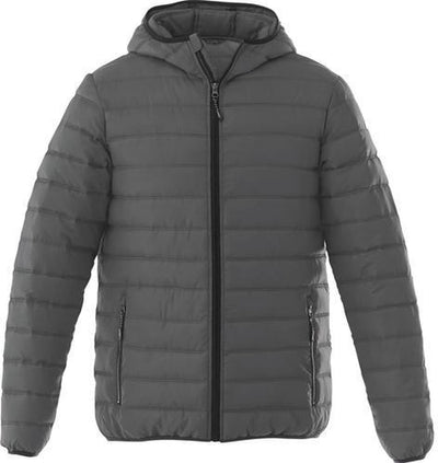 Elevate-NORQUAY Insulated Jacket-S-Steel Grey-Thread Logic