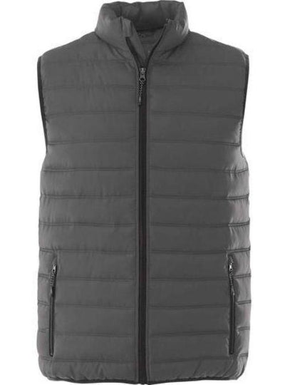 Elevate-MERCER Insulated Vest-S-Steel Grey-Thread Logic