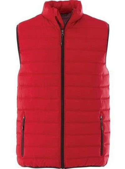 Elevate-MERCER Insulated Vest-S-Team Red-Thread Logic