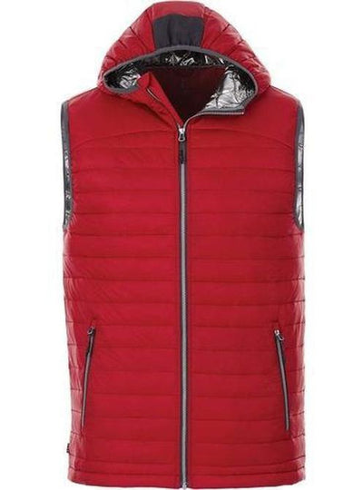 Elevate-Junction Packable Insulated Vest-S-Team Red-Thread Logic