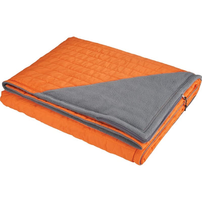 Elevate-Elevate Beta Oversize Light Down Blanket-Orange-Thread Logic
