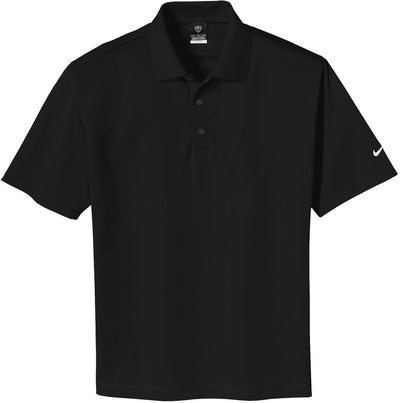 NIKE Golf Tech Basic Dri-Fit Polo-S-Black-Thread Logic