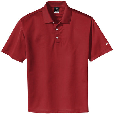 NIKE Golf Tech Basic Dri-Fit Polo-S-Pro Red-Thread Logic